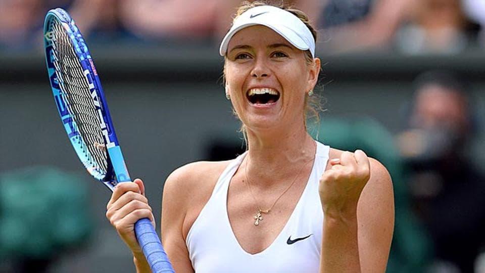 File photo of Maria Sharapova.
