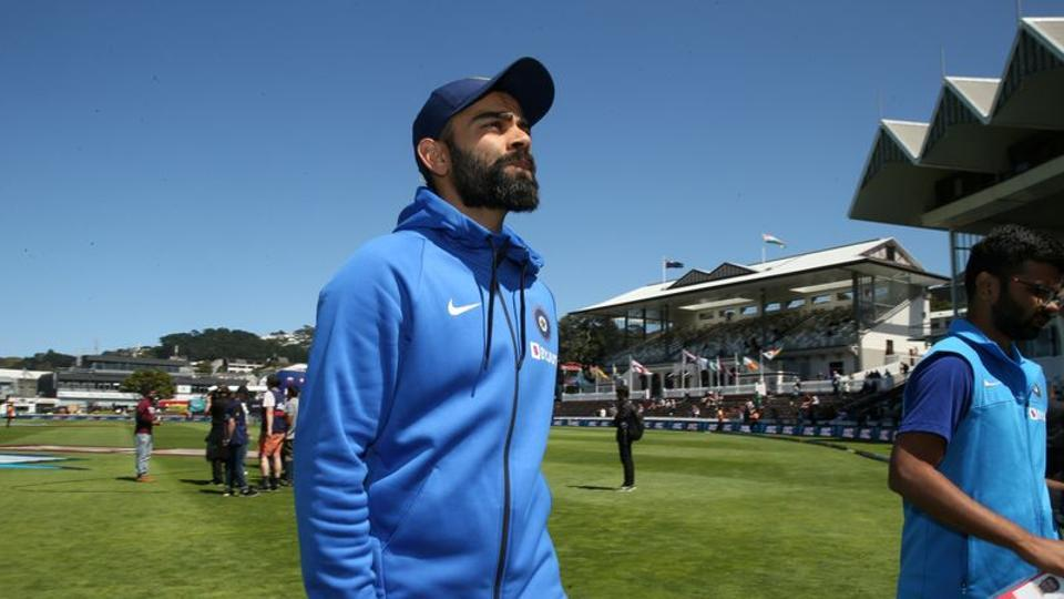 Cricket - New Zealand v India - First Test - Basin Reserve, Wellington, New Zealand - February 24, 2020 India's Virat Kohli after New Zealand beat India in the First Test REUTERS/Martin Hunter