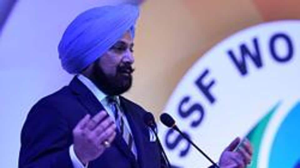National Rifle Association of India (NRAI) president Raninder Singh