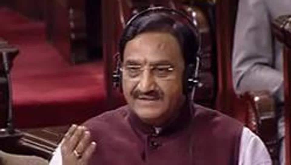 Union HRD Minister Ramesh Pokhriyal 'Nishank'
