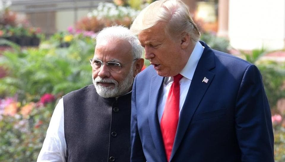 The president of the United States, Trump, likes to play his role in the destruction of the Islamic State. Hopefully, this has now twinned in your mind with India's fight against Pakistan.