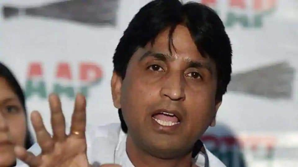 Kumar Vishvas said asked the Home Ministry to take action against AAP leader Tahir Hussain after media reports showed stacks of firearms at his house.