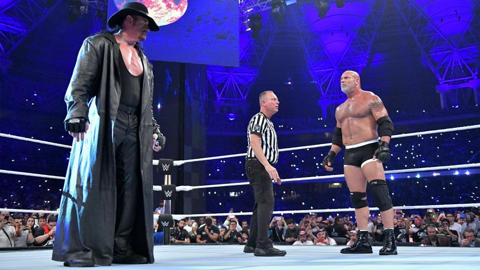 The Undertaker is in Saudi Arabia.
