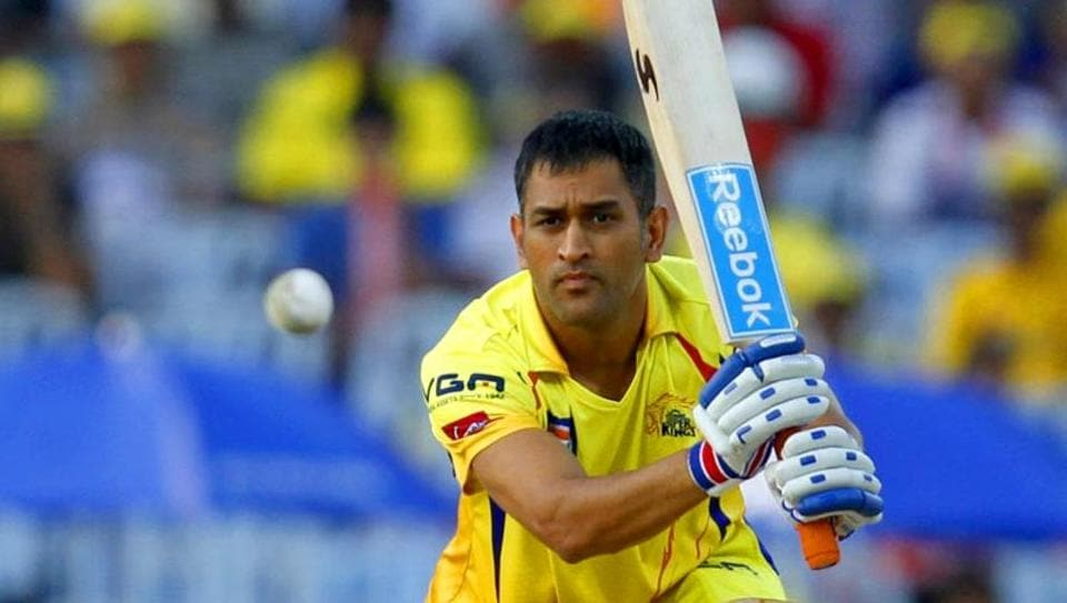 CSK captain MS Dhoni.
