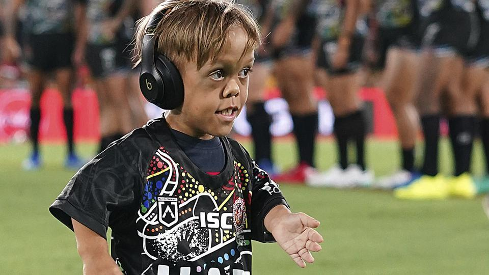 Although the funds were meant to send Bayles and his mum to Disneyland, his aunt told Australia's NITV News that the money would be used for charities instead.