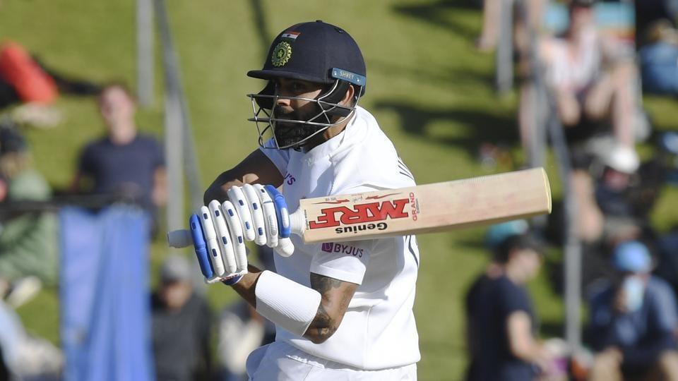 India's Virat Kohli during a Test match against New Zealand.