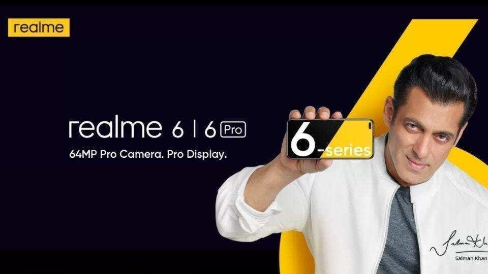 Realme 6 series to launch in India next week.