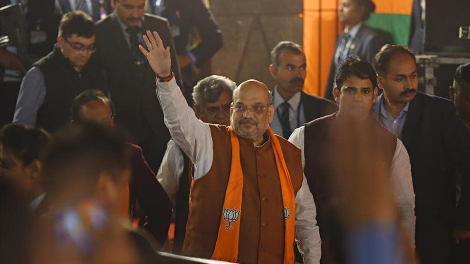 Nearly one lakh BJP supporters are expected to gather at Shahid Minar grounds to listen to Amit Shah.