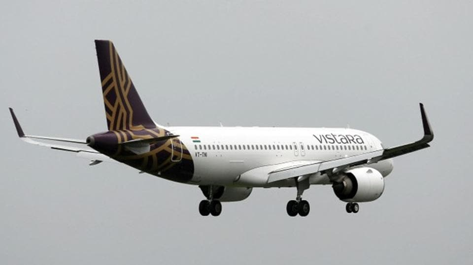 The new aircraft is the first of the six that Vistara has purchased from Boeing.