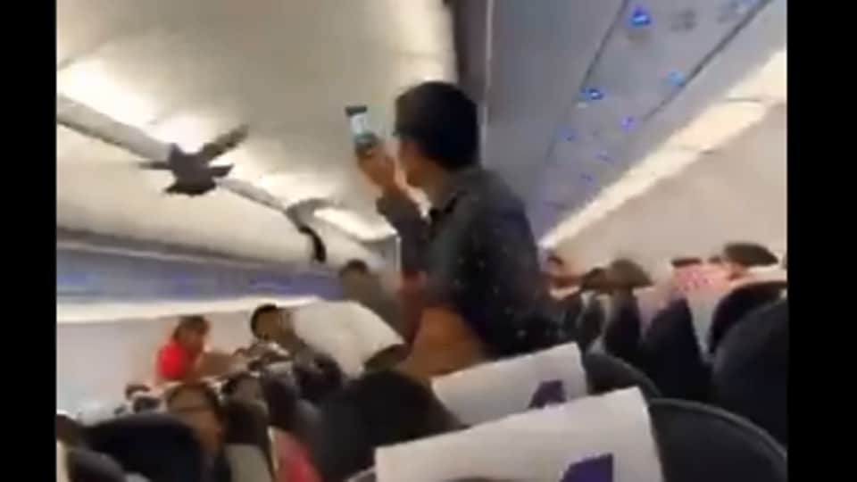 The incident ended up causing a delay.