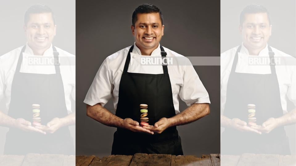 At 32, Desai had already bagged a Michelin star and that he appeared on the Great British Menu series on the BBC; Make-up and hair: Ashwin Shelar