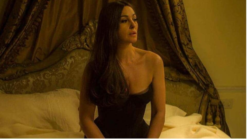 """Bellucci is playing the 20th-century opera star in a month-long show entitled: """"Maria Callas: Lettres et Memoirs (Maria Callas: letters and memories) at the Bouffes Parisiens theatre until March 28."""