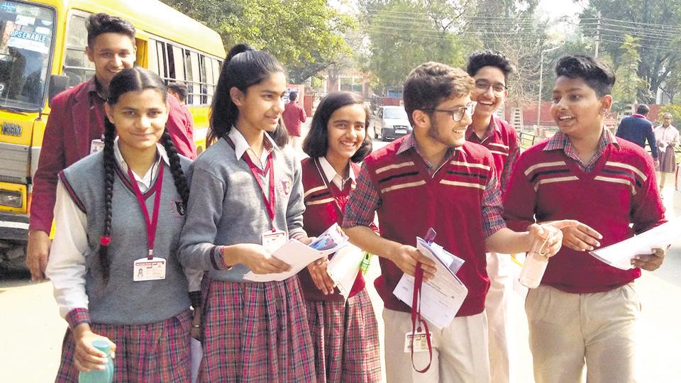 The Central Board of Secondary Education (CBSE) Class 12 physics and applied physics exams and Class 10 music exam is being conducted peacefully at all Centres in India and abroad, including those in north-east Delhi.
