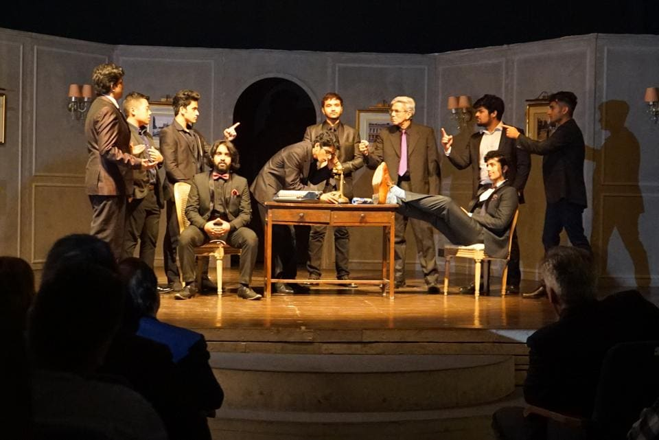A still from Syndicate of Seducers, a Spanish zarzuela set to be performed  by a largely Indian cast.