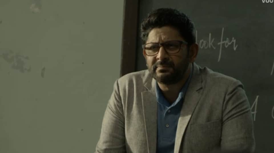 Asur review: Arshad Warsi in a still from the web show.