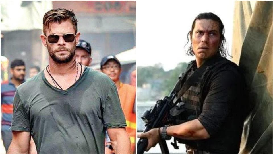 Chris Hemsworth and Randeep Hooda will be seen together in Extraction.