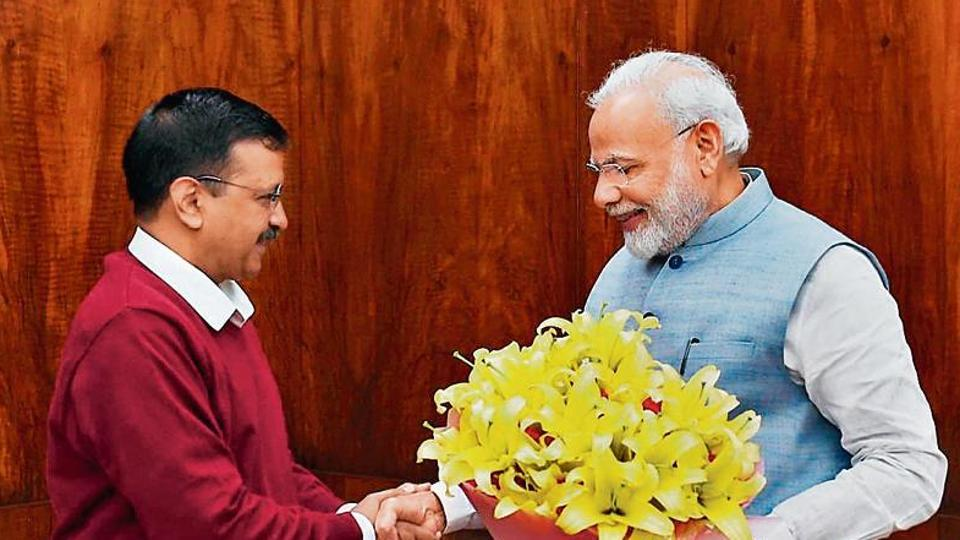 The chief minister's office said Kejriwal had sought time from the Prime Minister's Office (PMO) for a courtesy meeting with Modi after he was elected the Delhi chief minister for the third consecutive time.