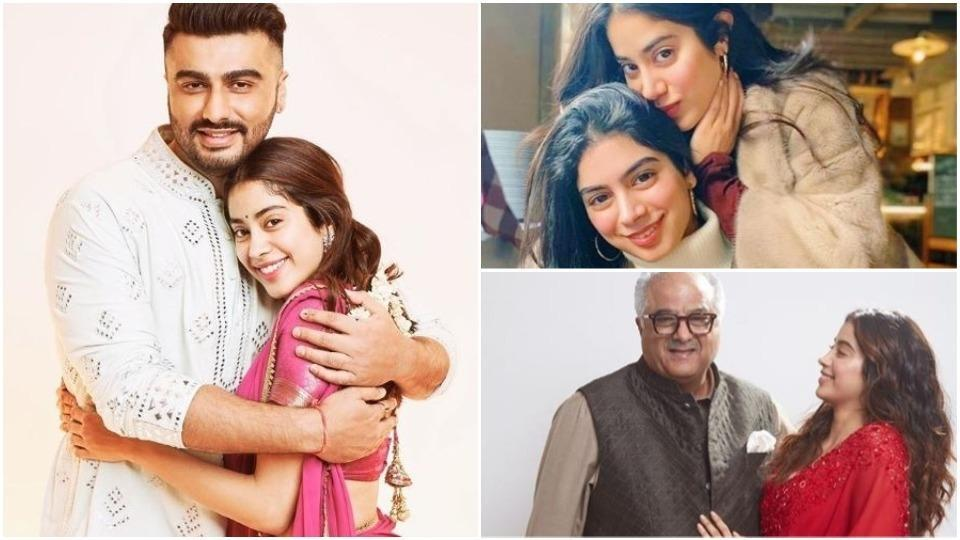 Happy birthday Janhvi Kapoor: See her best pics with her family.