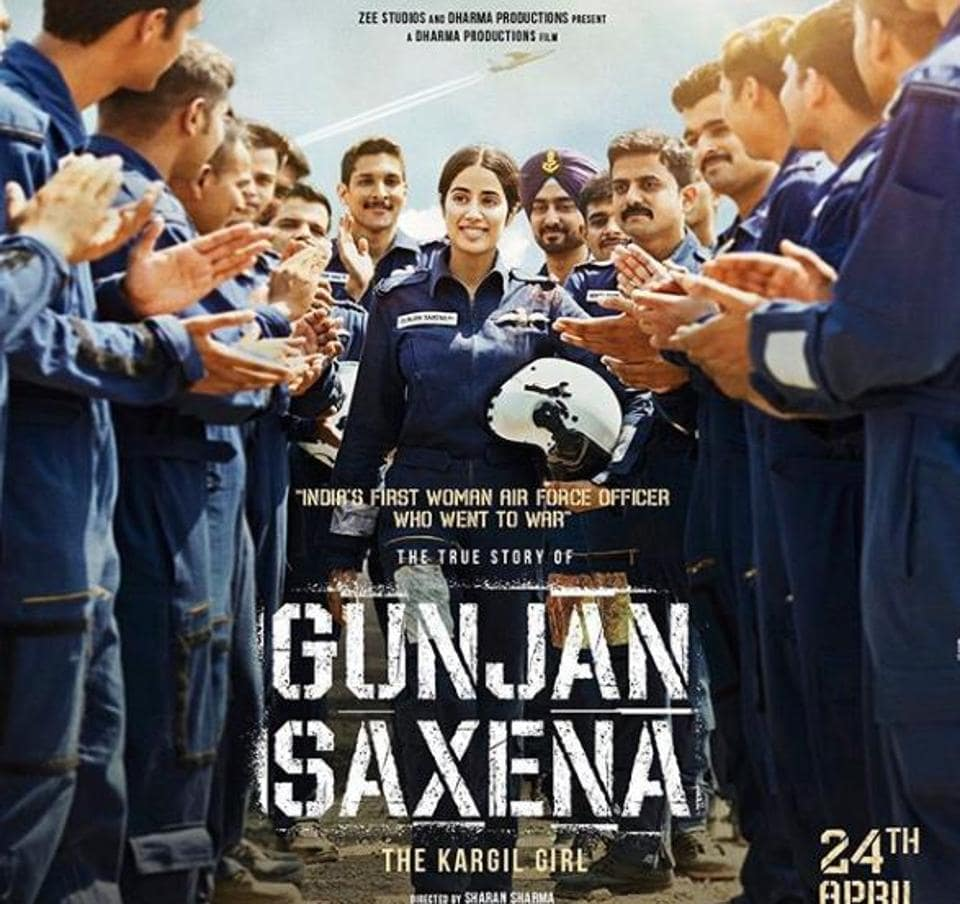 JanhviKapoor will soon be seen as air force pilot in Gunjan Saxena: The Kargil Girl.