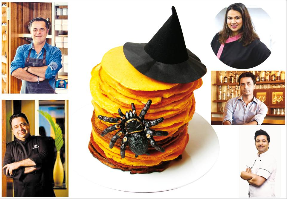 Top Indian chefs,  (anticlockwise from top left)Vicky Ratnani, Manish Mehrotra, Kunal Kapur, Manu Chandra, Pooja Dhingra reveal how they fixed their worst kitchen fail