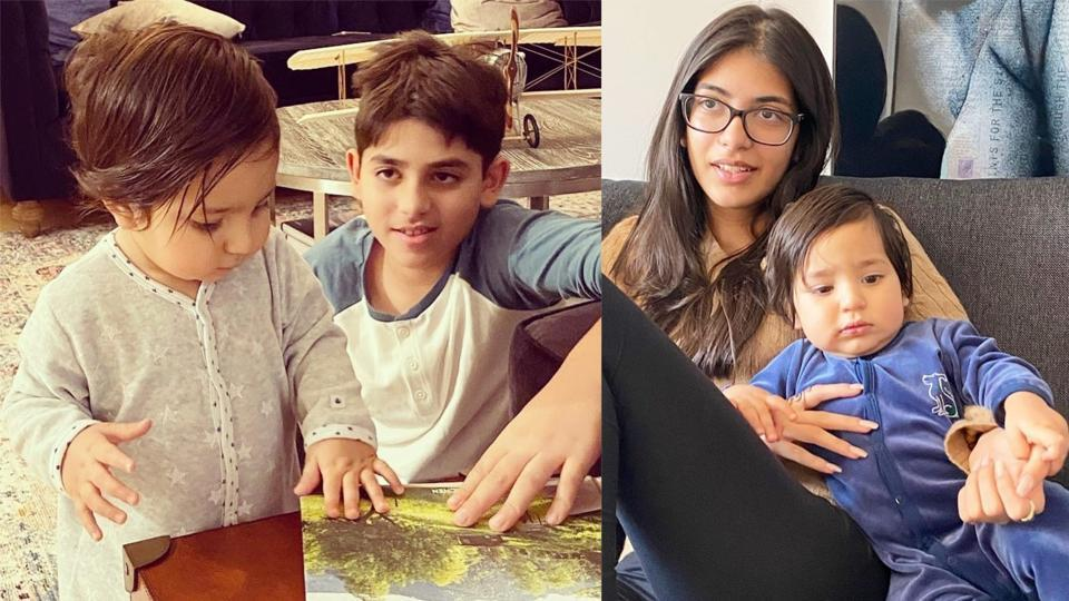 Priya Sachdev wished Karisma Kapoor's son Kiaan on his birthday with an adorable picture and message.