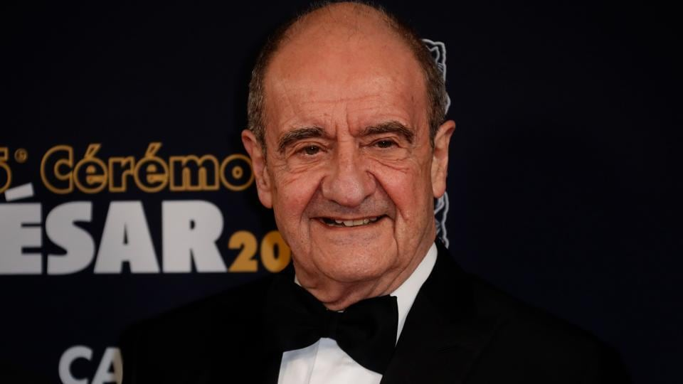 The president of the Cannes Film Festival Pierre Lescure poses upon his arrival at the 45th edition of the Cesar Film Awards ceremony at the Salle Pleyel in Paris on February 28, 2020.