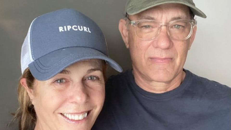 Tom Hanks has posted a new picture with wife Rita Wilson after the two tested positive for coronavirus.