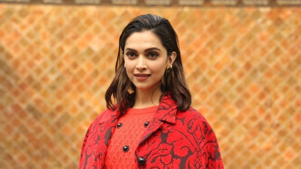 Deepika Padukone during the promotions of her film Chhapaak.