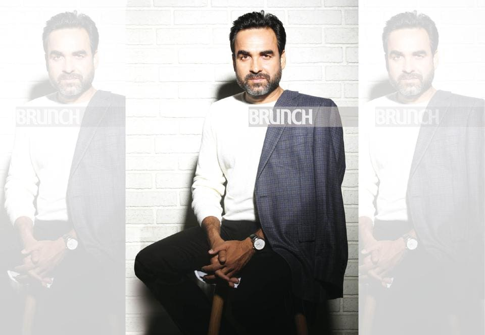 Pankaj Tripathi, a boy from an unknown village of Bihar is today the toast of Bollywood and a National Award winning actor; Knit, Zara; jeans, Armani Exchange; jacket, Canali; shoes, H&M ; Styling: Vineet Chauhan; Make-up & hair: Eikash Darnal