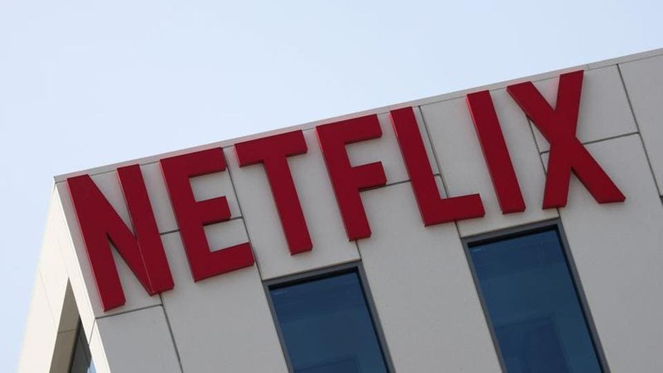 File Photo: The Netflix logo is seen on their office in Hollywood, Los Angeles, California, US July 16, 2018.