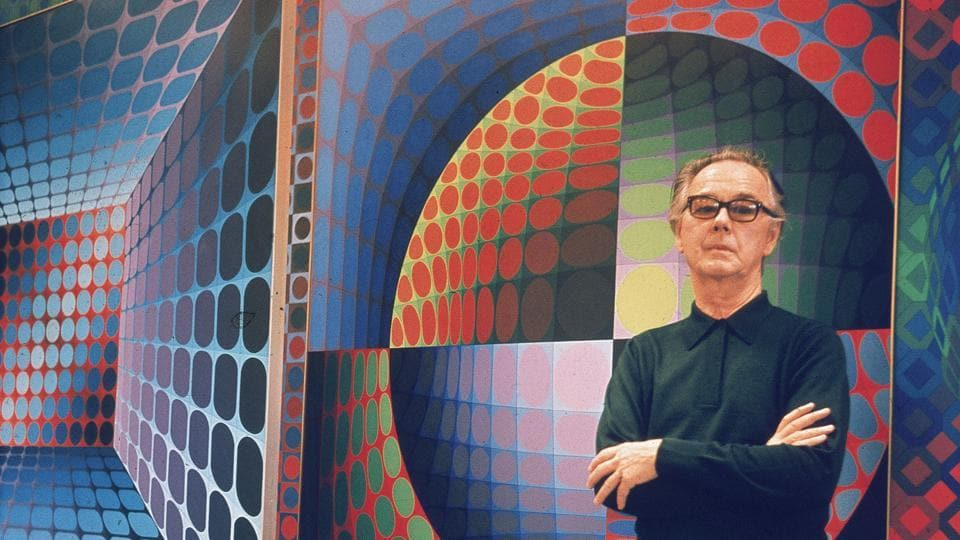 Hungarian-French artist Victor Vasarely breathed his last on March 15, 1997.