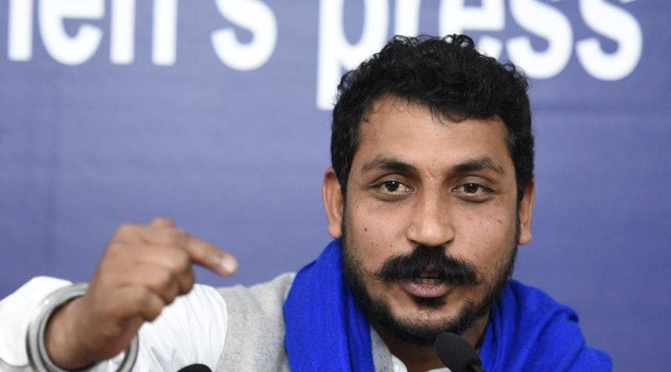 Chandrashekhar Azad said the Bhim Army will run parallel to the his political outfit Azad Samaj Party and continue to fight for Dalit rights and enrol new members.
