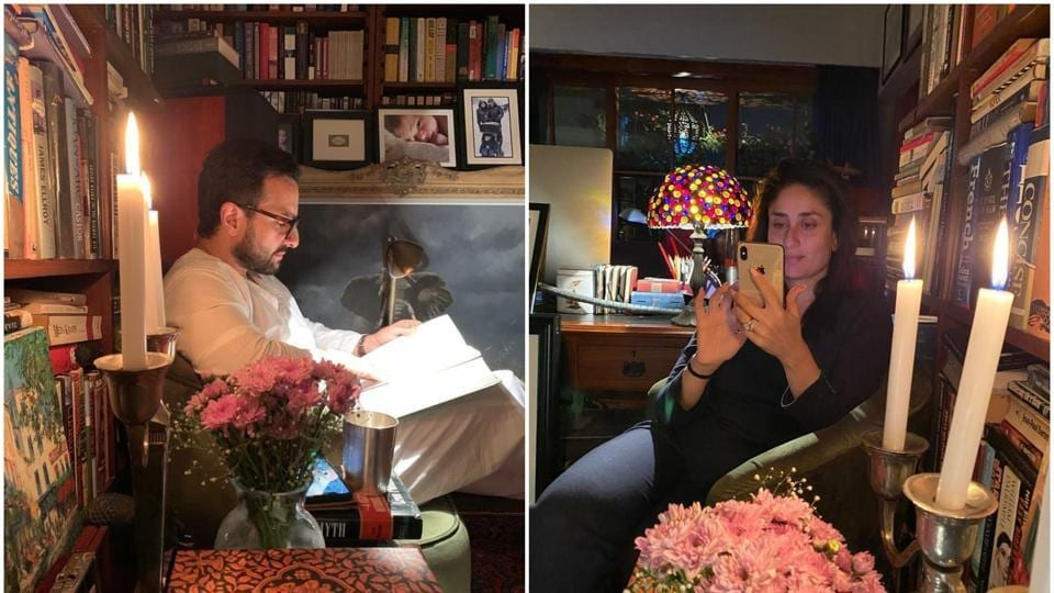 Kareena Kapoor Khan gave fans a glimpse into what her week with Saif Ali Khan might be like.