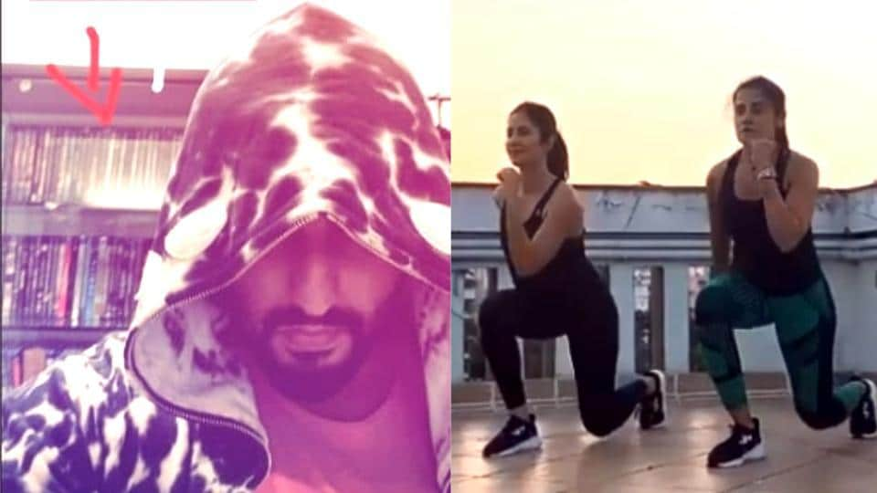 Arjun Kapoor will be watching movies while Katrina Kaif will be working out at home during their self-quarantine period amid the coronavirus outbreak.