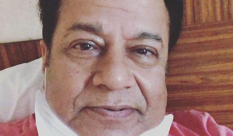 Anup Jalota shared a picture from his stay at a Mumbai hotel where he has been kept in isolation after he returned from London.