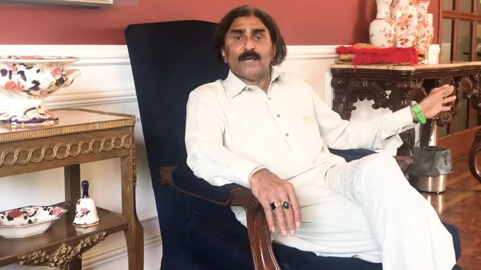 Former Pakistan captain Javed Miandad