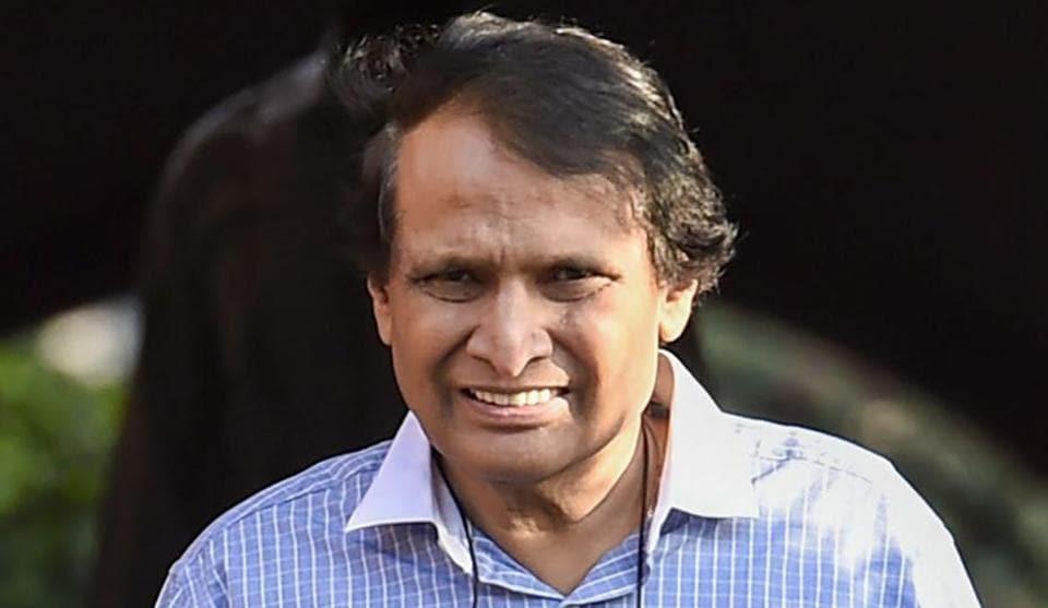 Suresh Prabhu returned from coronavirus hit Saudi  to attend a meeting on March 10.