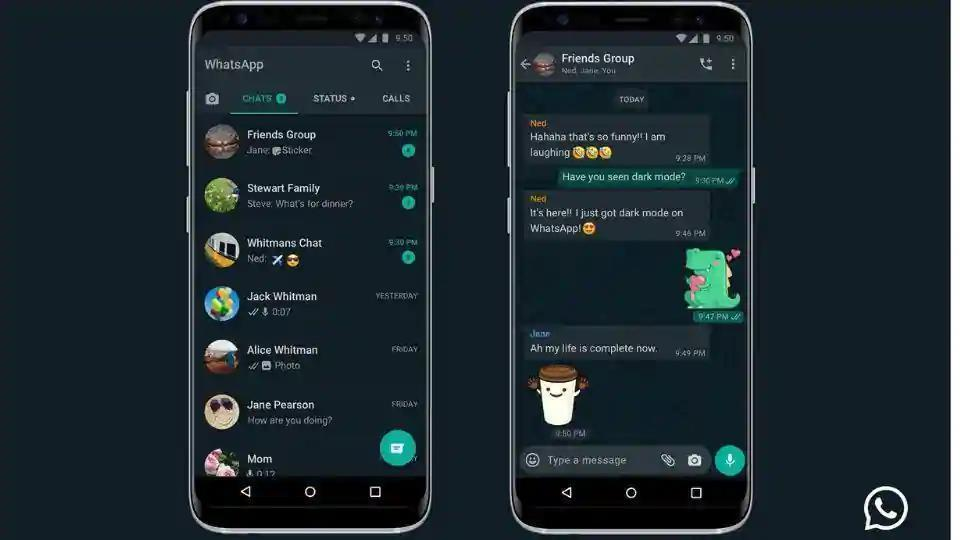WhatsApp dark mode is now available for users globally.