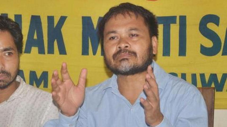 On Tuesday, the NIA court in Guwahati had granted bail to Akhil Gogoi after the agency failed to file charge sheet against him within 90 days of arrest.