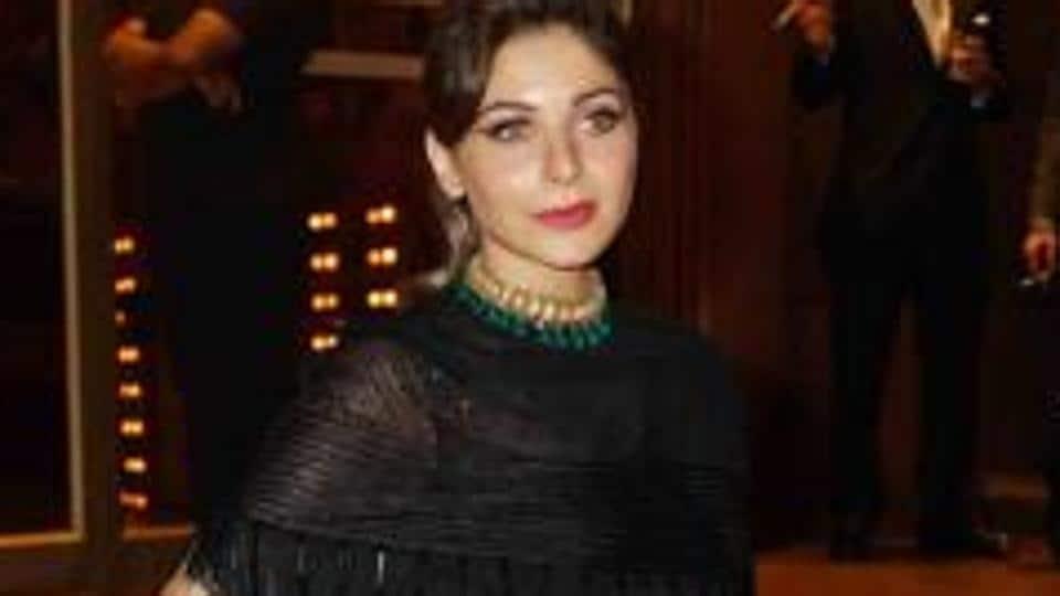 Bollywood singer Kanika Kapoor.