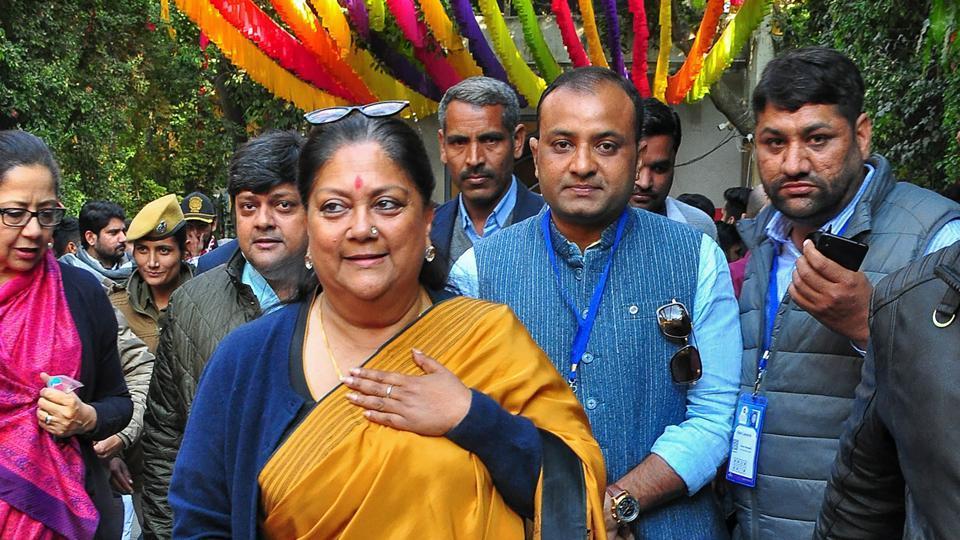 Vasundhara Raje, son Dushyant in self quarantine after ...