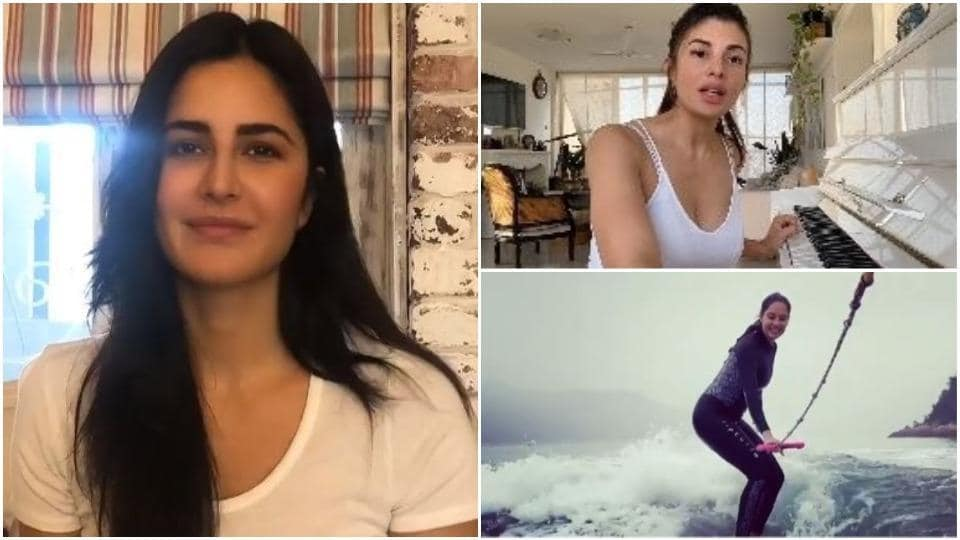 Katrina Kaif, Jacqueline Fernandez and Lisa Haydon made special posts for their fans.