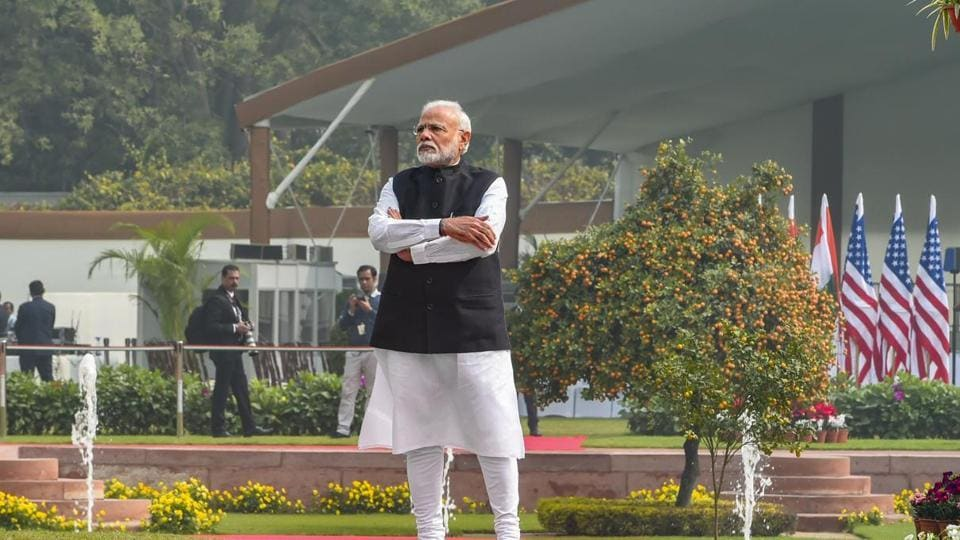 """Prime Minister Modi said that the """"threat of the pandemic is common for all states"""""""