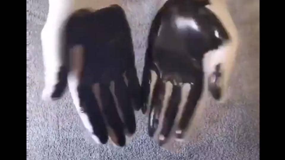 This hand washing video has really managed surprise and impress people.