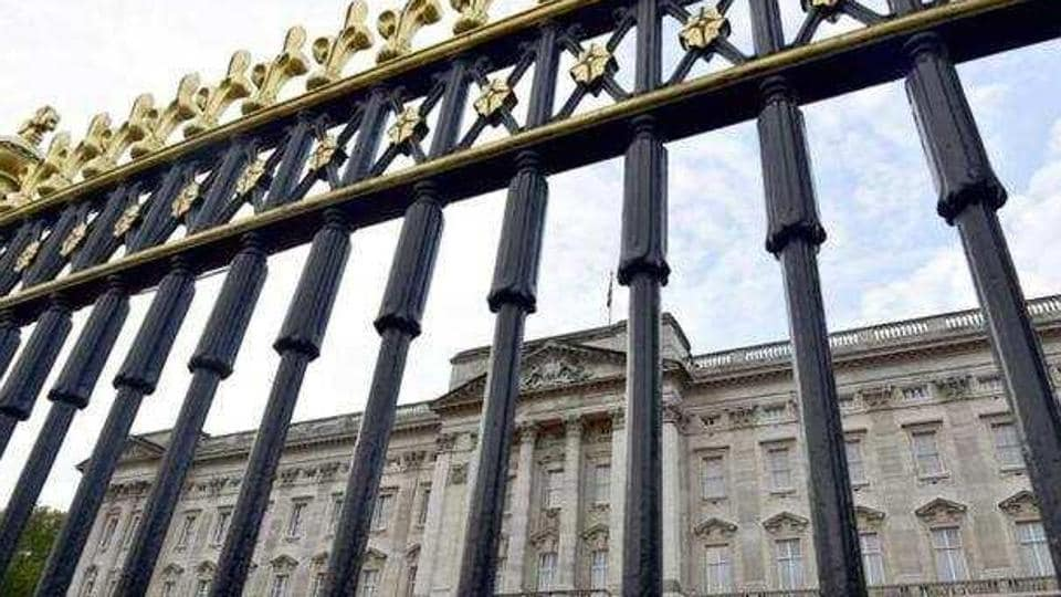 Buckingham Palace is seen through the perimeter fence in central London.(Reuters File Photo)