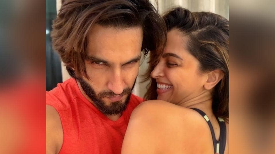 Ranveer Singh and Deepika Padukone are enjoying their workout sessions during the coronavirus lockdown.