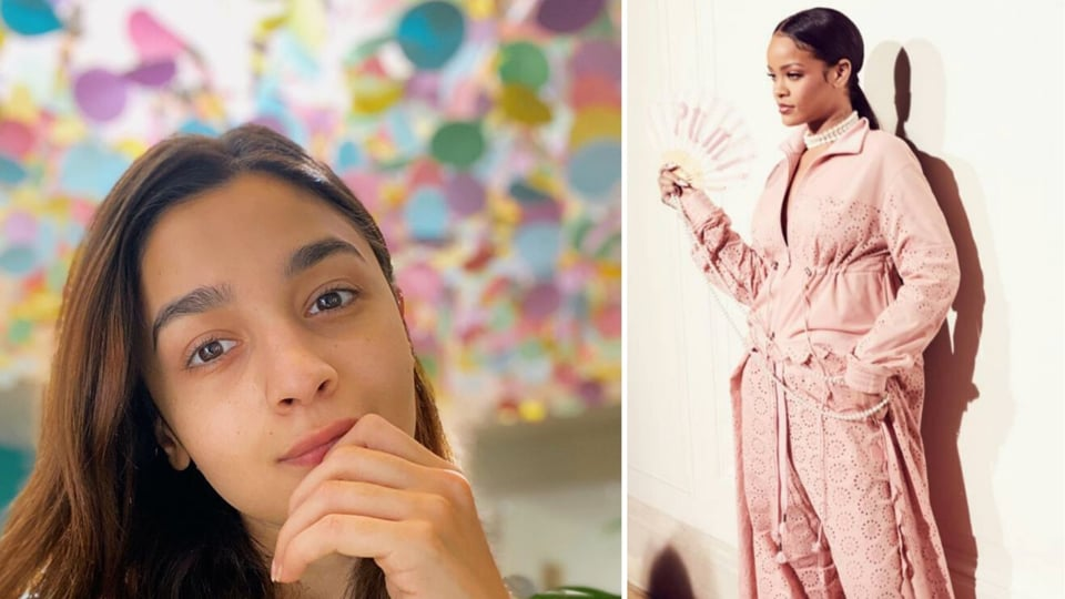 Celebrities from Alia Bhatt to Deepika Padukone are constantly posting on their social media on how to indulge in some self-care and stay safe. And their no make-up looks in their super cute pyjamas are a pleasant change from the usual severely photoshopped photoshoots