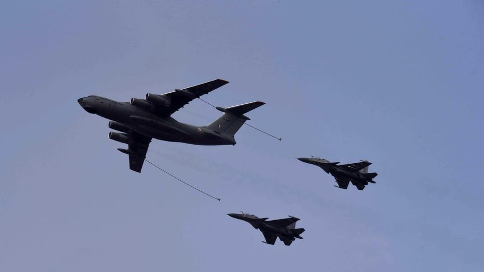 الهند تستعد ولاول مره لاستئجار طائرات صهريج للتزود بالوقود جوا بدلا من شرائها لضغط النفقات  Air-force-exercise-iron-fist_9ea2cd2a-6caf-11ea-ab2c-59405e977d32