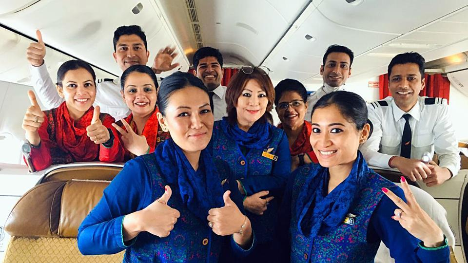 Air India crew who evacuated Indians citizens from Rome, Italy have been advised home quarantine as per the established norms of the company, in New Delhi on Sunday, March 22, 2020.