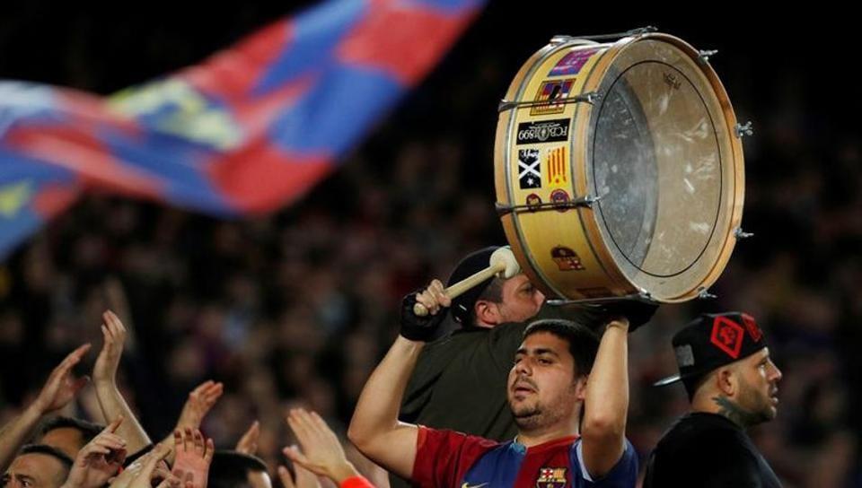 File photo of La Liga fan.